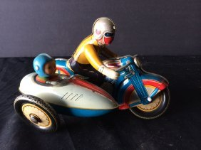 Japanese-made Tin Toy
