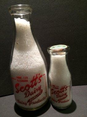 Scotts Dairy Quart Bottle