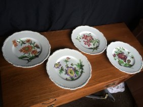 Set,4 Cauldon Plates