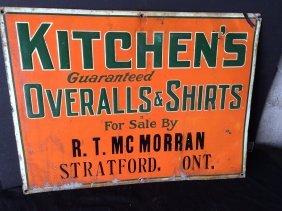 Stratford Metal Sign