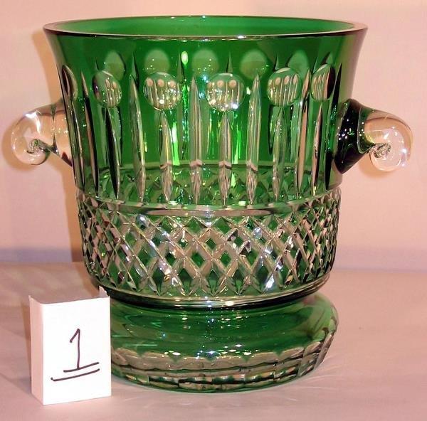 1: CUT GLASS ICE BUCKET
