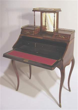 FRENCH ROSEWOOD LADIES WRITING DESK