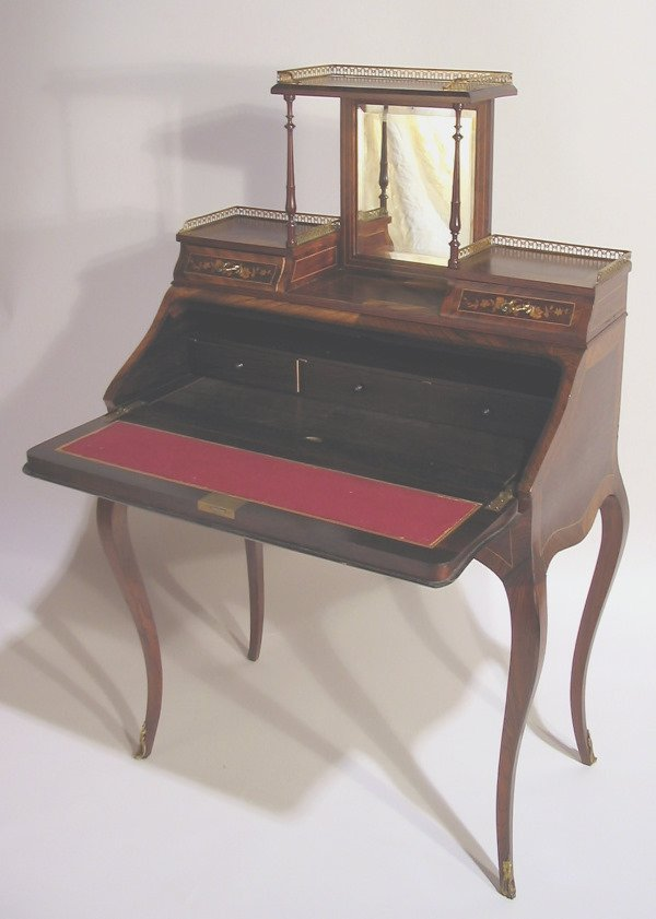 515: FRENCH ROSEWOOD LADIES WRITING DESK