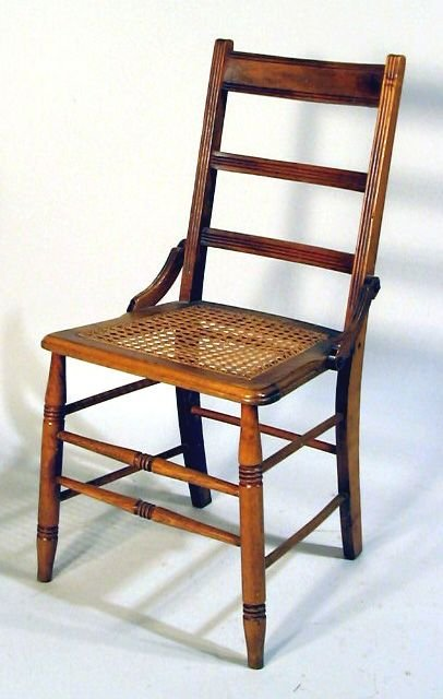 502: LATE CARVED WALNUT VICTORIAN SIDE CHAIR