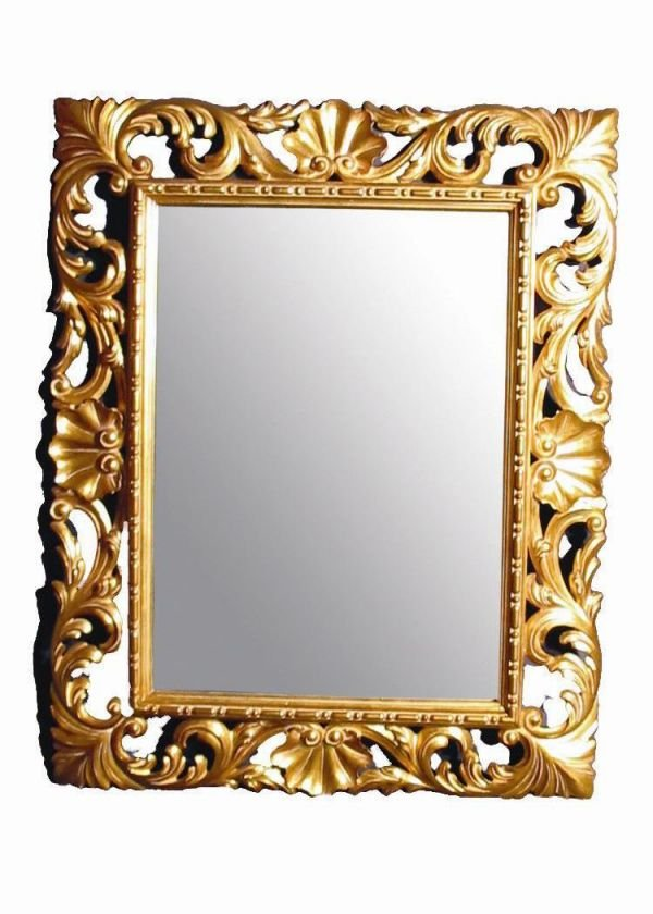 514A: BEAUTIFUL GOLD GILDED MIRROR