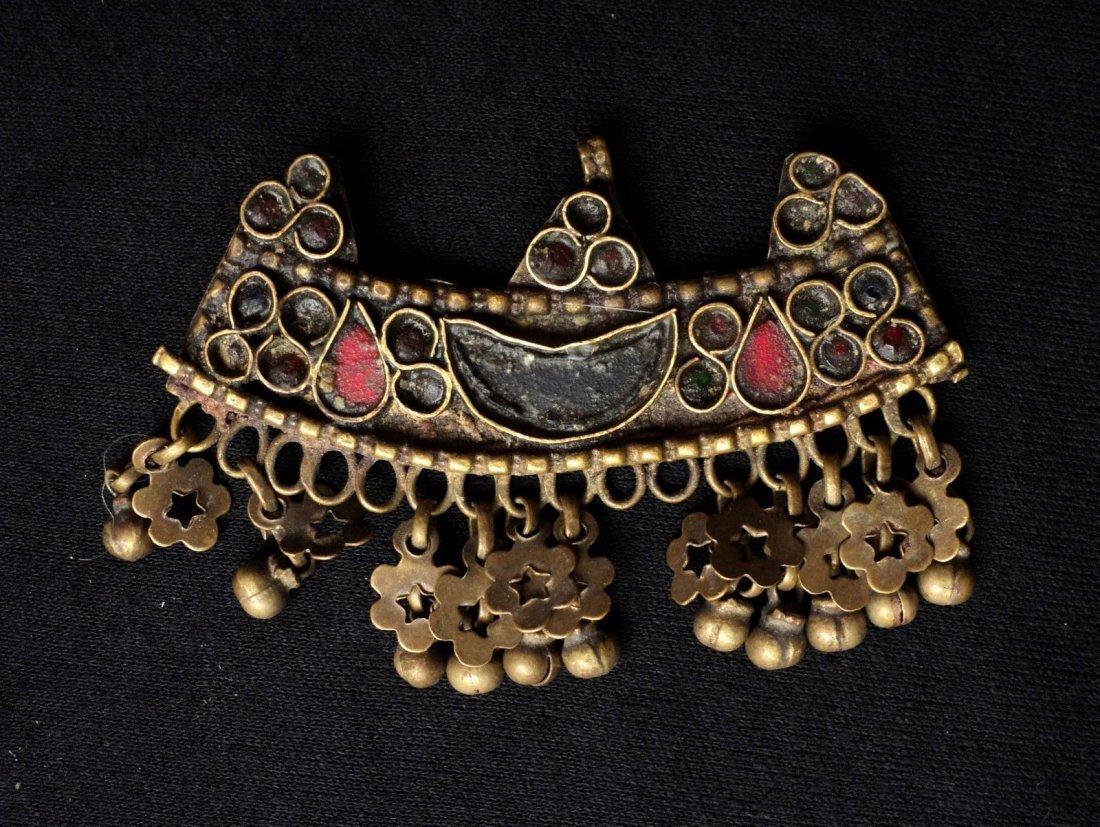 Antique Bukhara Uzbek Ethnic Belly Dancer Jewelry