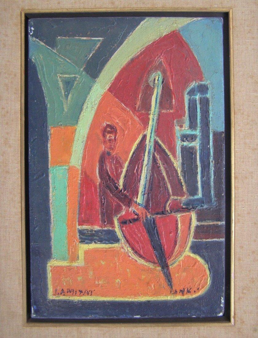 Isaac Amitai (Israeli, 1907–1984) oil on canvas
