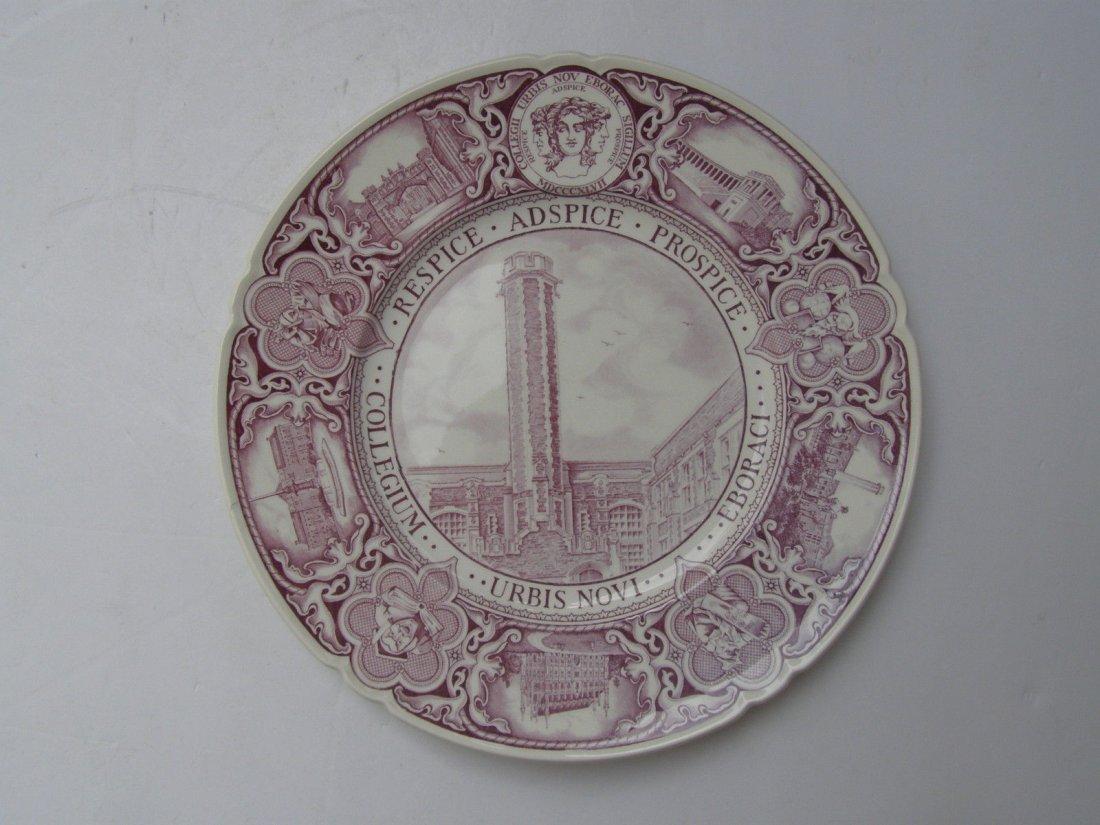 SAINT NICHOLAS TOWER Wedgwood ceramic plate
