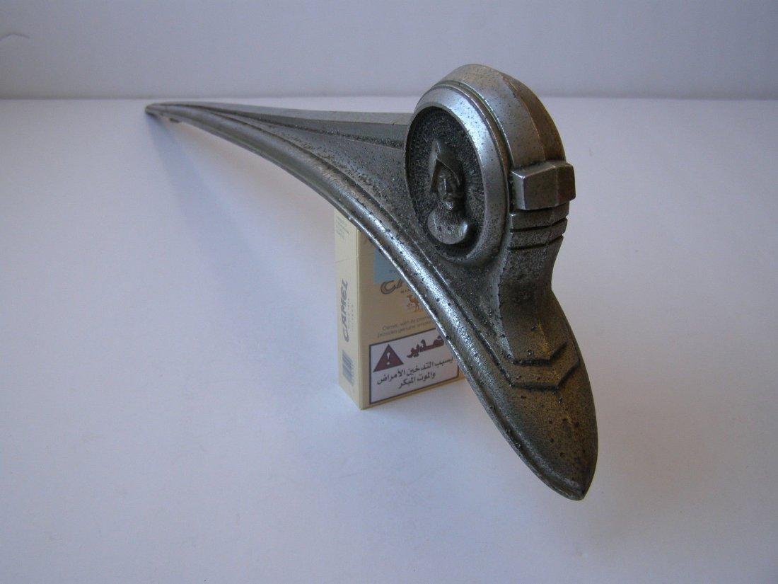 Nickel 1949 Desoto HOOD Ornament