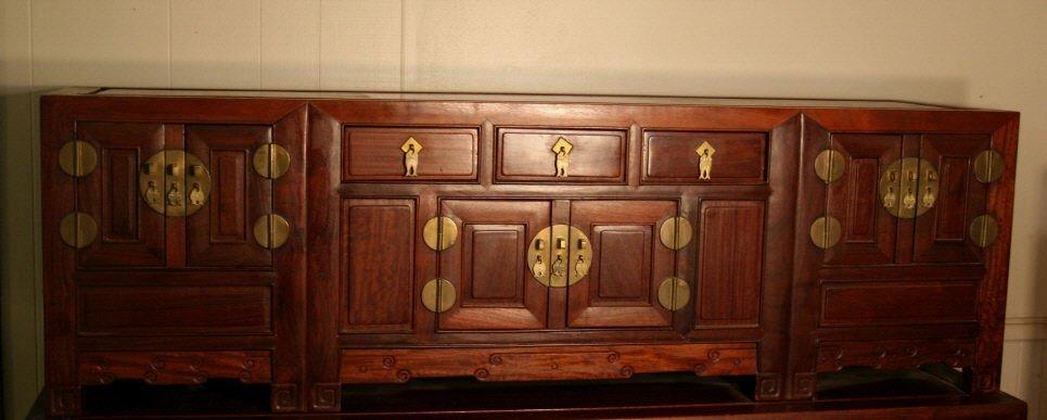 Large Chinese wedding chest