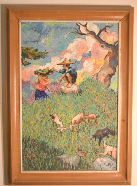 Original painting on canvas dated 1956