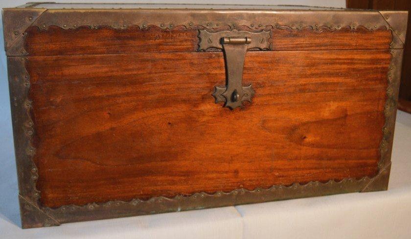Mahogoney Naval chest