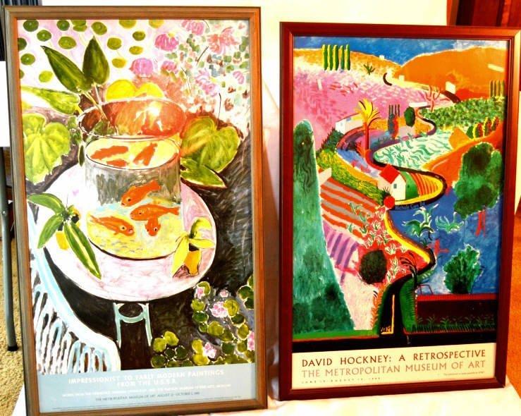 Pair of Metropolitan museum of art posters