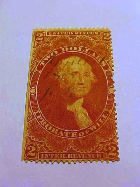 EARLY REVENUE STAMP