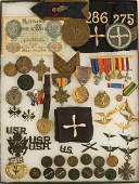 US WWI Army Aviation Insignia, Patches, a foreign