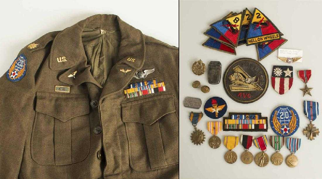 IDd WIA WWI USMC Officer 1st Bn, 6th Marines Uniform