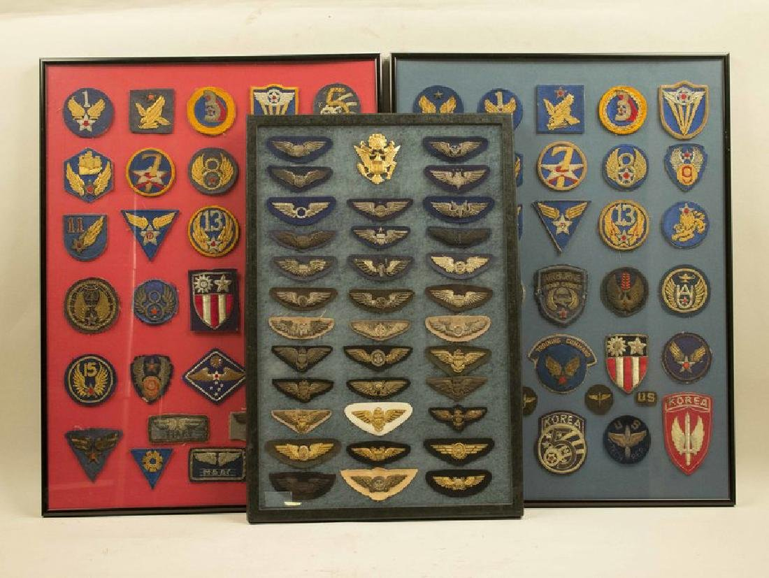 US Army Air Force and USAF Bullion Embroidered Wings
