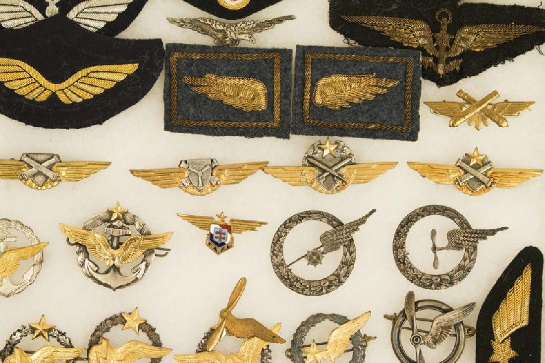 French Pilots' Badges, Aviation Badges, and Uniform