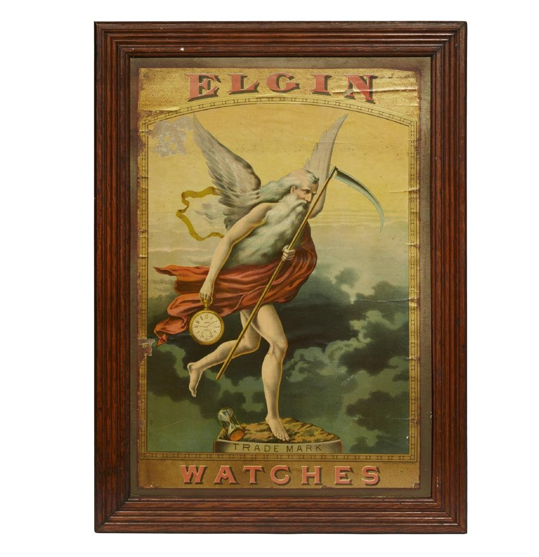 Elgin Watches Advertising Poster
