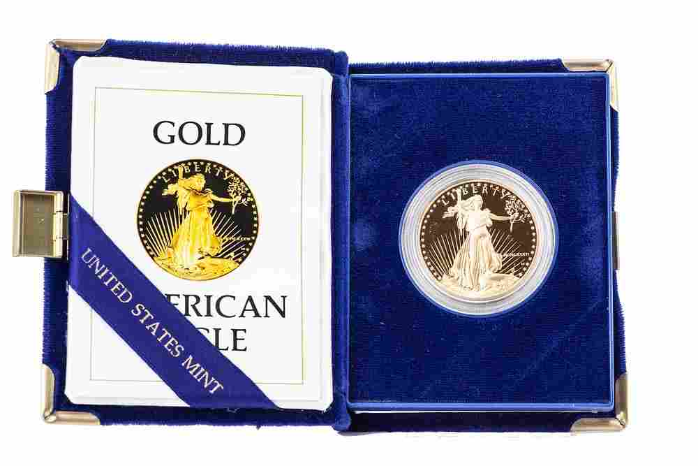 1 oz Proof Gold American Eagle Coin