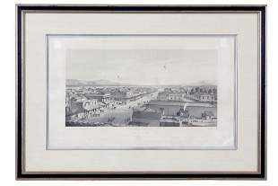 Birds-Eye View City of San Jose 1858