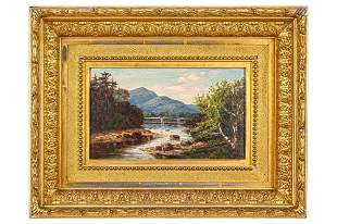 Frank Henry Shapleigh (1842-1906) Painting, New