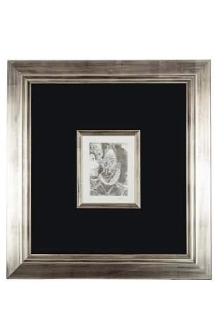 "Pablo Picasso (1881-1973) Etching, ""Portrait-Charge"