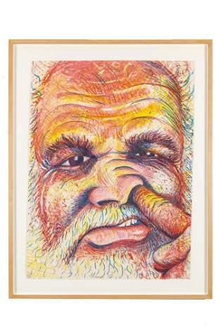 Robert Arneson (1930-1992) Lithograph,
