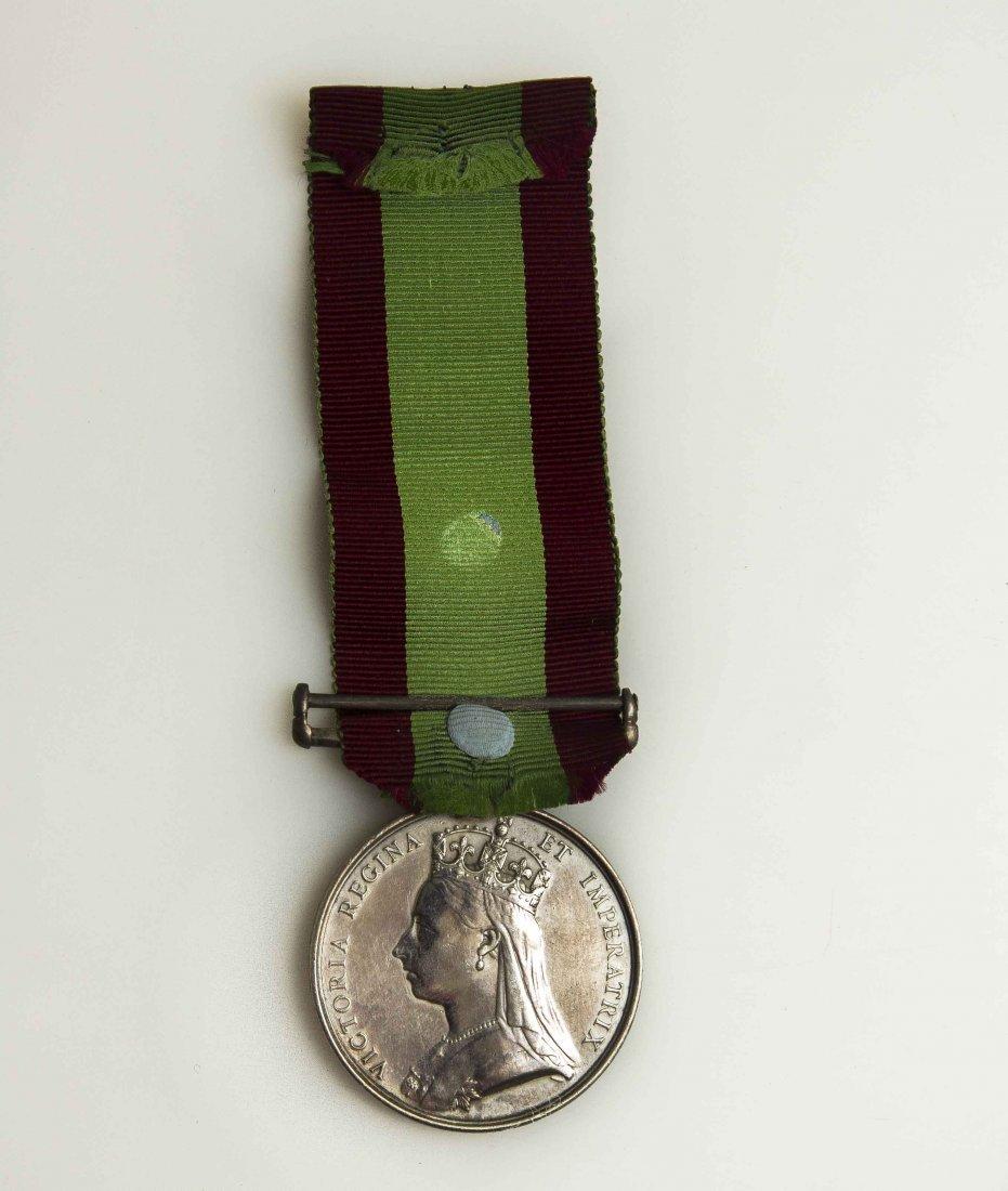 British Afghan War Medal 1878