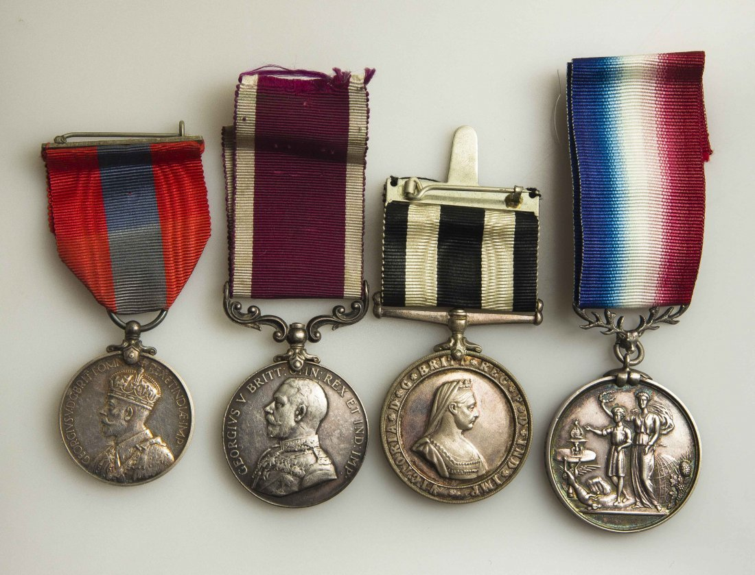 Misc. British Medals, Including Army and St. John's LS&