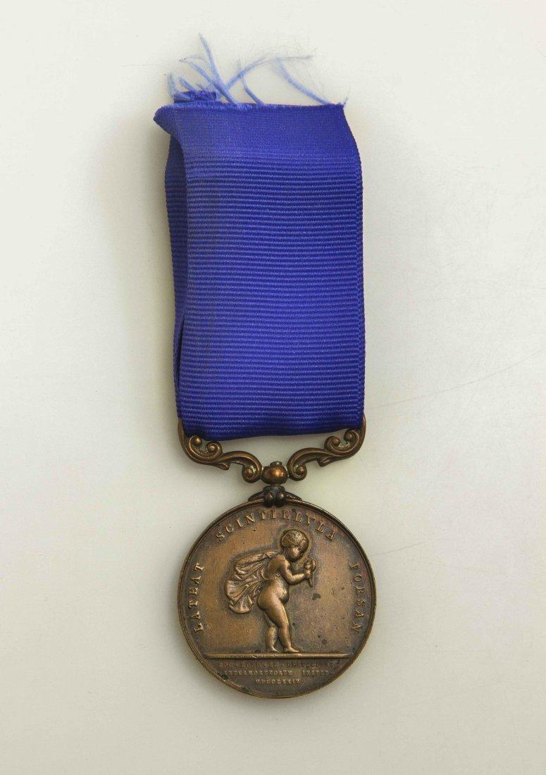 Bronze Royal Humane Society Medal