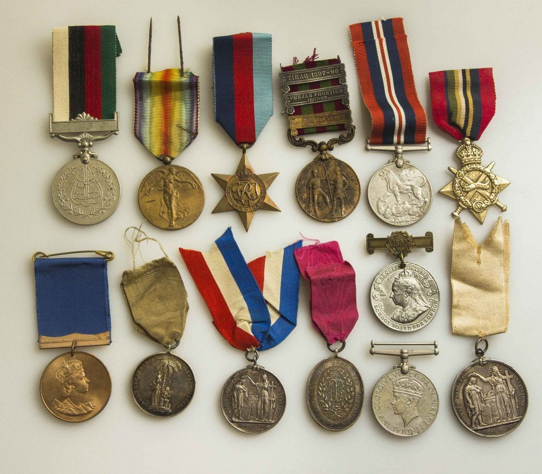 13 Misc. Medals