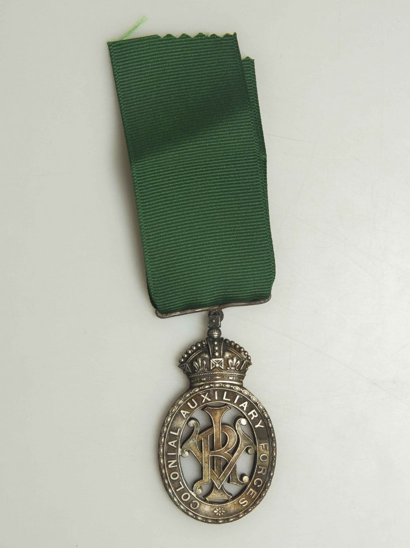 British Colonial Auxiliary Forces Decoration VRI