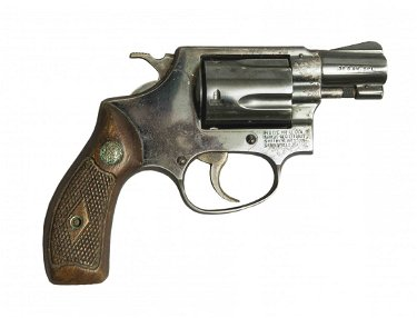 Smith + Wesson  38 Special Snub-Nose Revolver, 5 Shots