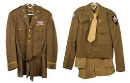 2 WWII U.S. Army Officer's Jackets