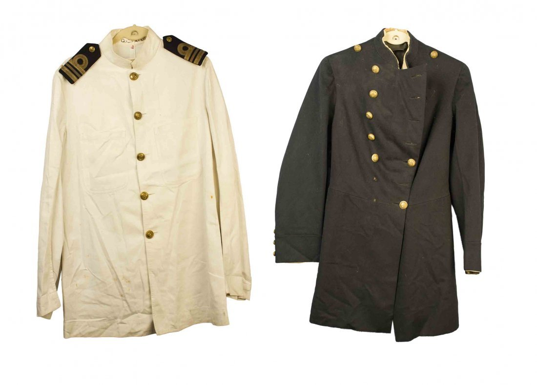 Naval Uniforms, including Royal Navy White Tropical