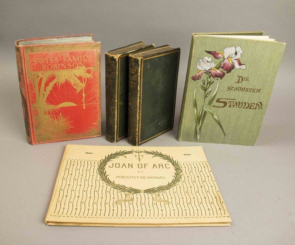Group of Five 19th & 20th Century Illustrated Books