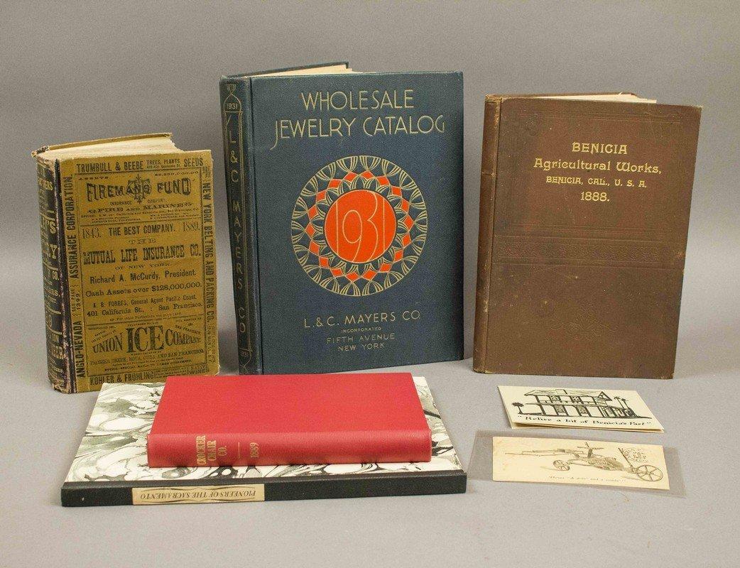 4 California Related Books & Trade Catalogs