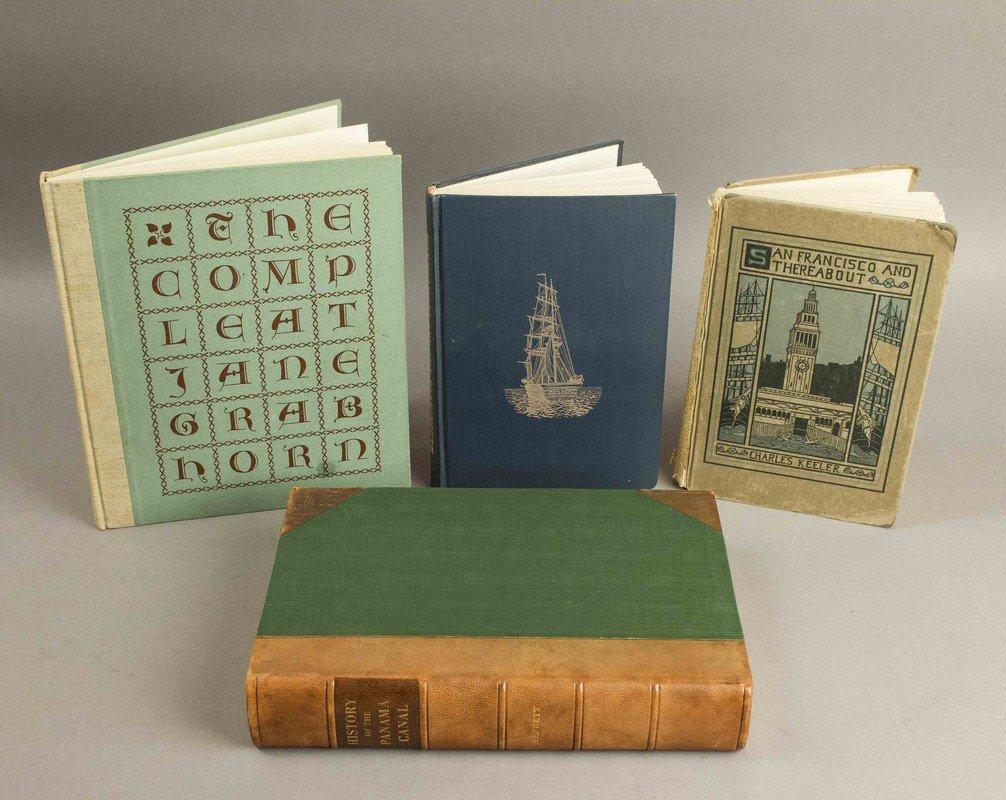 4 California/Western Related Books