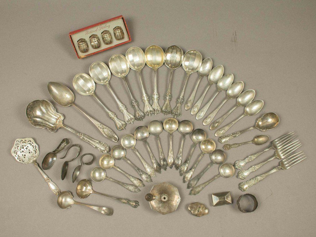 Assorted Sterling Silver Flatware, 41.5 Troy Oz.