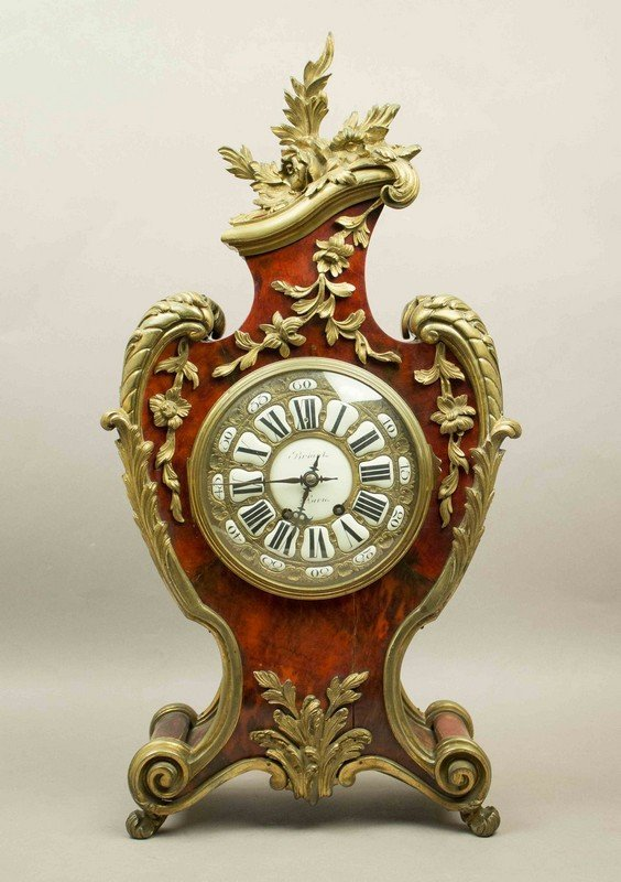 19th Century French Clock with Vincenti & Co. Movement