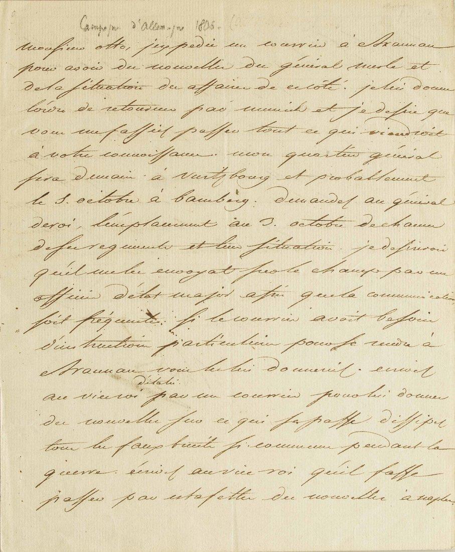 Napoleon I (1769-1821) Signed Letter