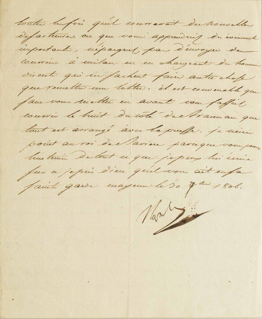 Napoleon I (1769-1821) Signed Letter - 2