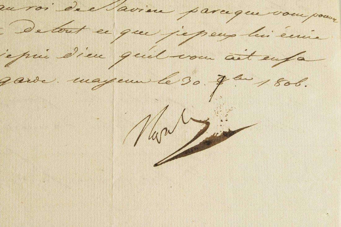Napoleon I (1769-1821) Signed Letter - 3