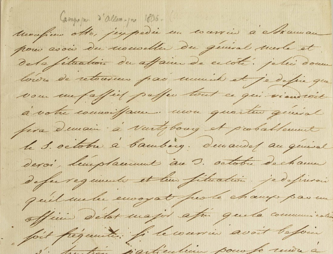 Napoleon I (1769-1821) Signed Letter - 5