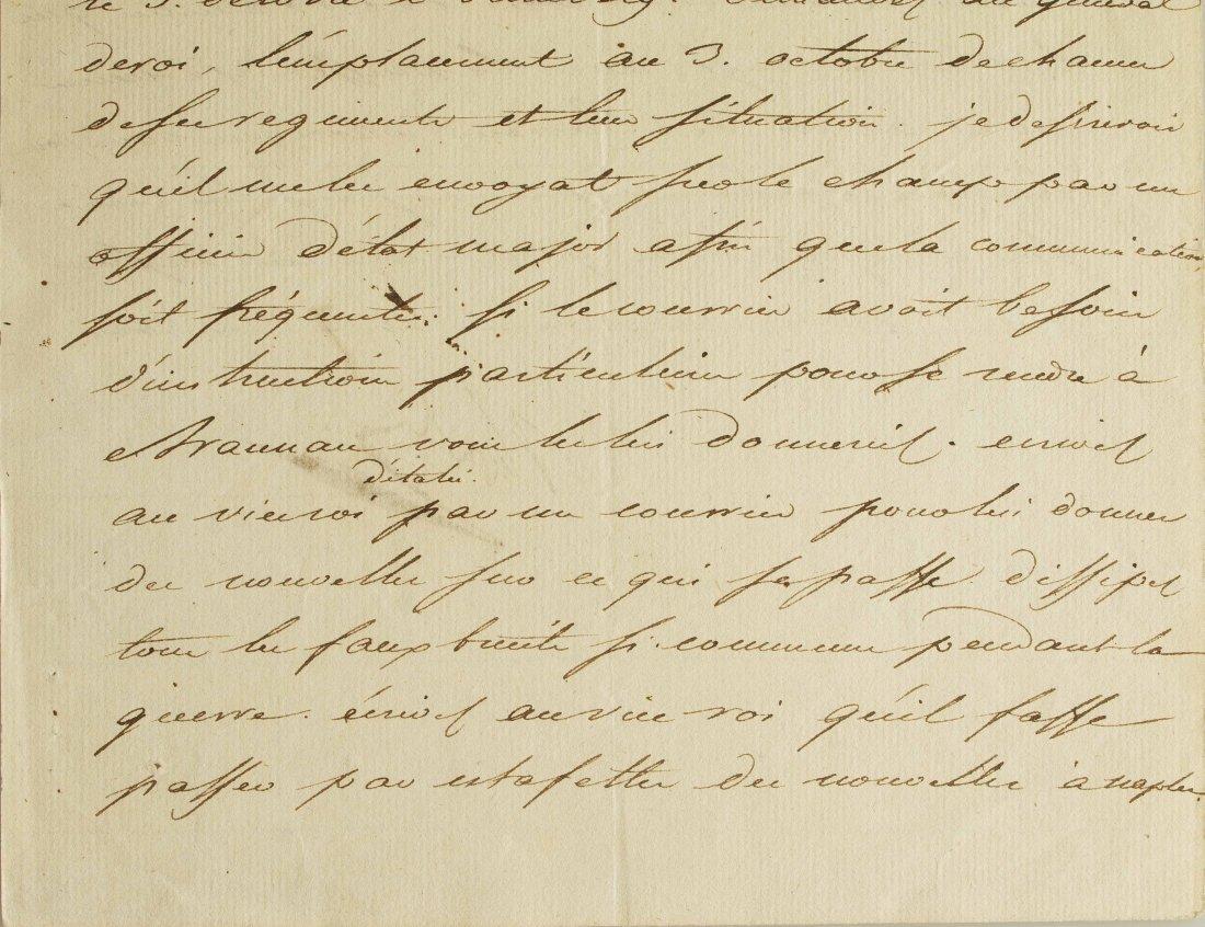 Napoleon I (1769-1821) Signed Letter - 6