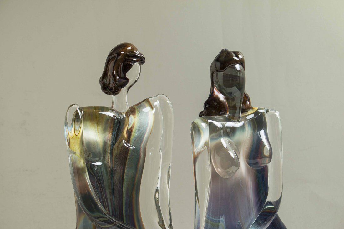 Oscar Zanetti (b. 1961) Murano Glass Sculpture - 2