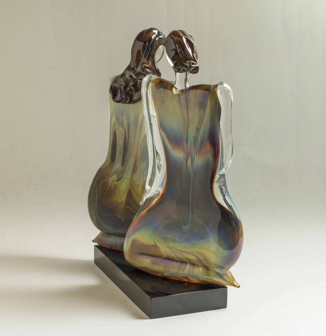 Oscar Zanetti (b. 1961) Murano Glass Sculpture - 3