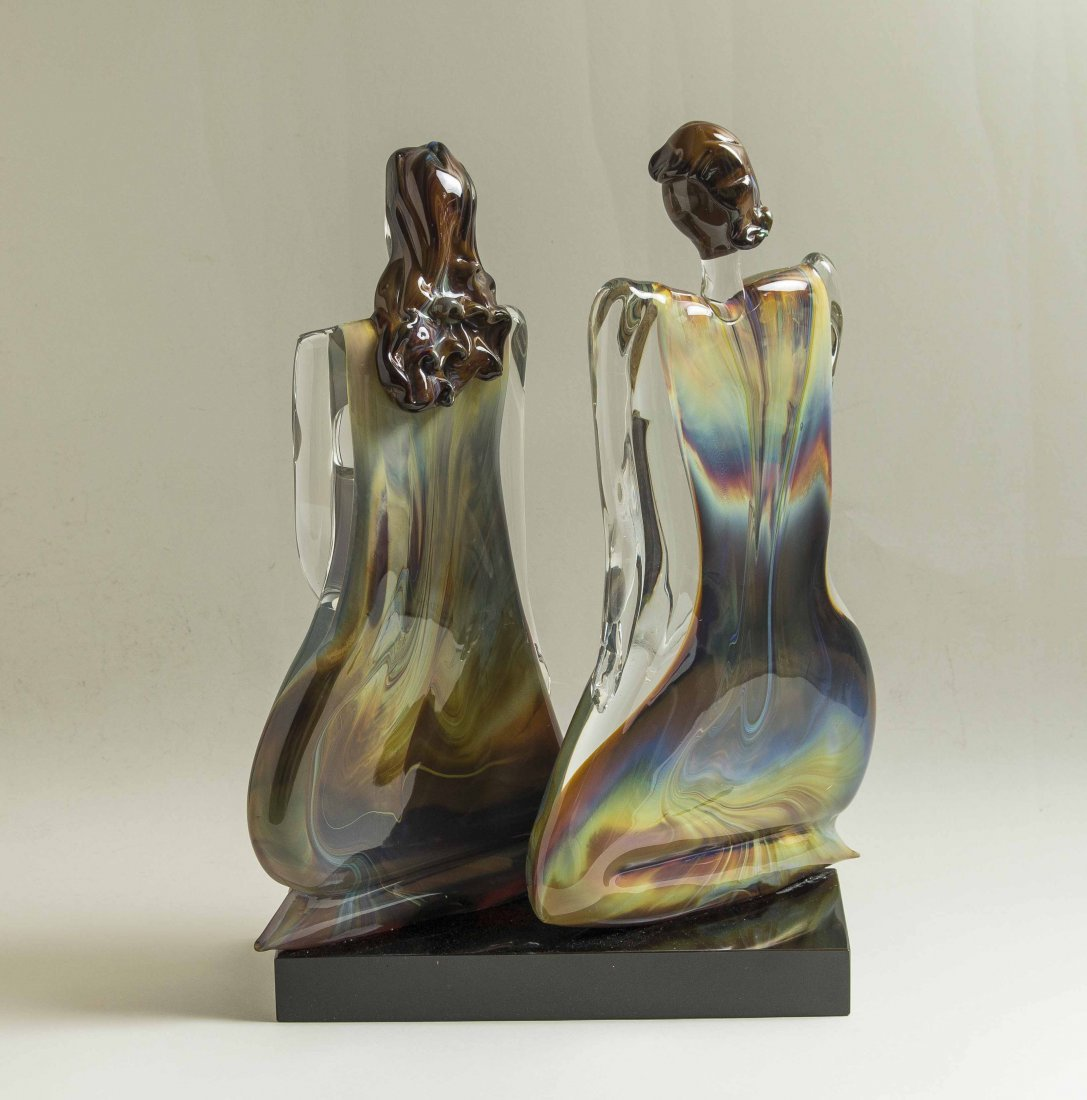 Oscar Zanetti (b. 1961) Murano Glass Sculpture - 4