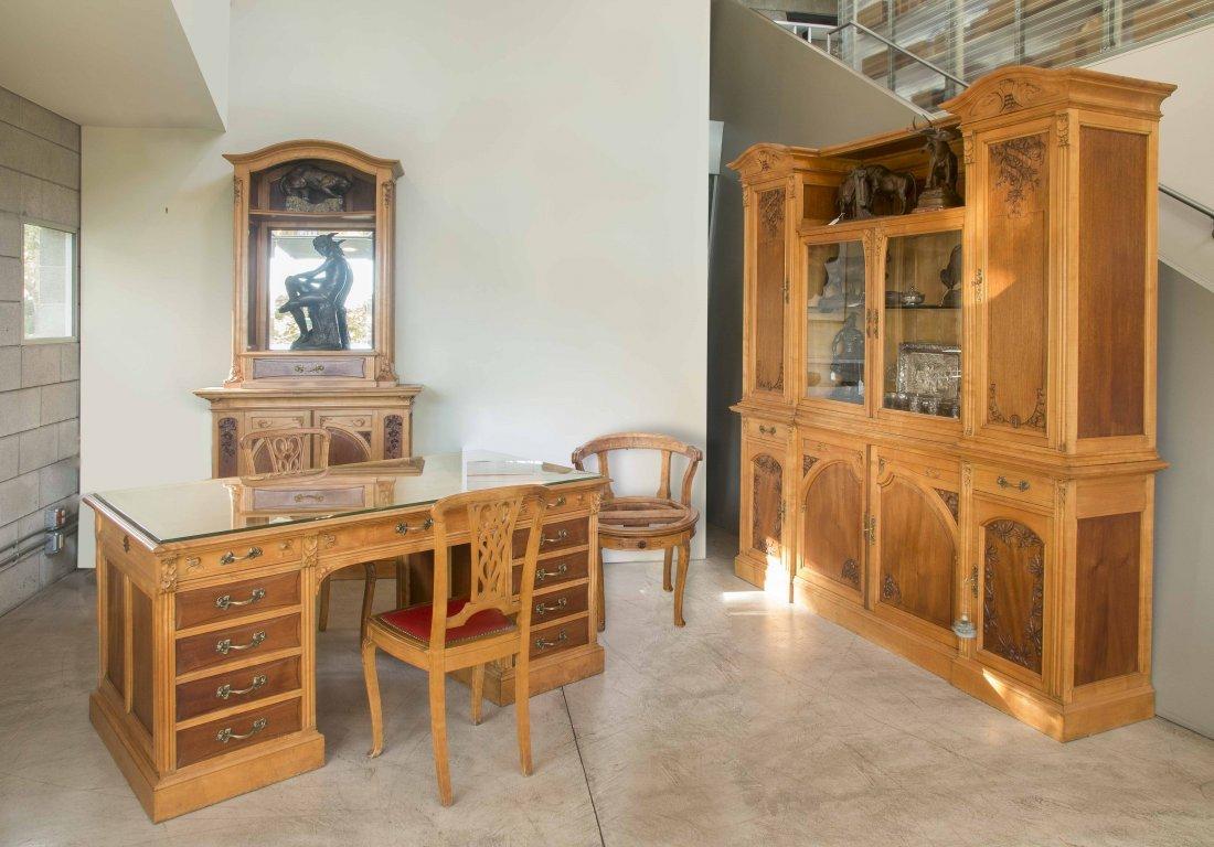 5-Piece Art Nouveau Office Suite